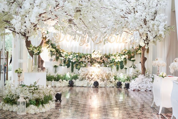 Wedding of Donny & Elisa by White Pearl Decoration - 024