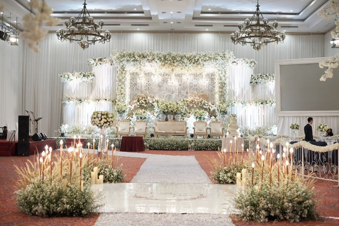 Wedding of Donny & Elisa by White Pearl Decoration - 008