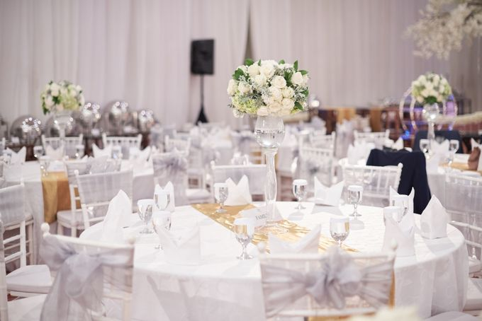 Wedding of Donny & Elisa by White Pearl Decoration - 010