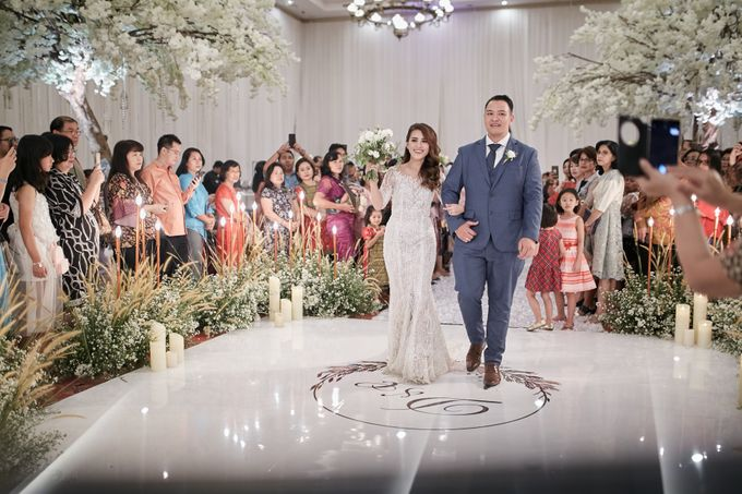Wedding of Donny & Elisa by White Pearl Decoration - 025