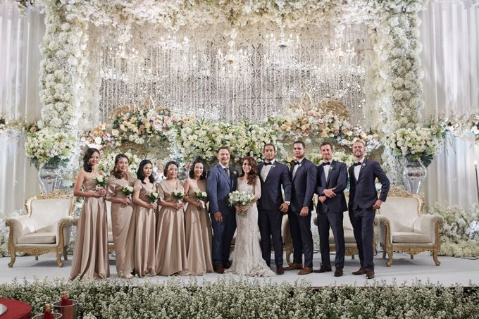 Wedding of Donny & Elisa by White Pearl Decoration - 017