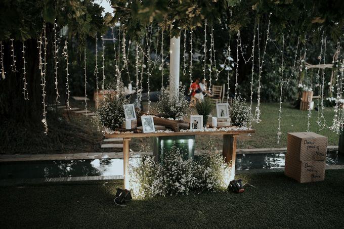 DANIA & EGAR by Raffles Hills Cibubur - On Green Garden Venue - 004