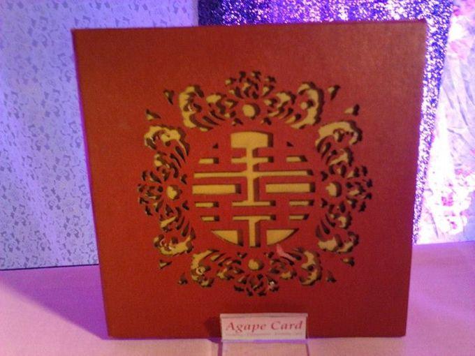 Wedding Card by Agape Card - 001