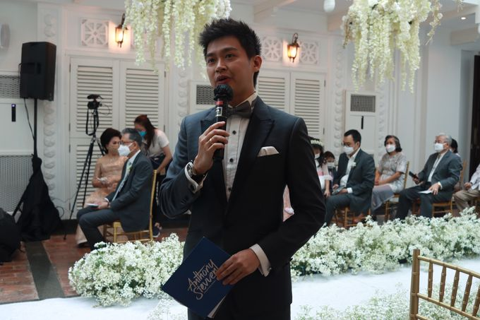 MC Intimate and Live Streaming service at hermitage Jakarta - Anthony Stevven by Anthony Stevven - 011