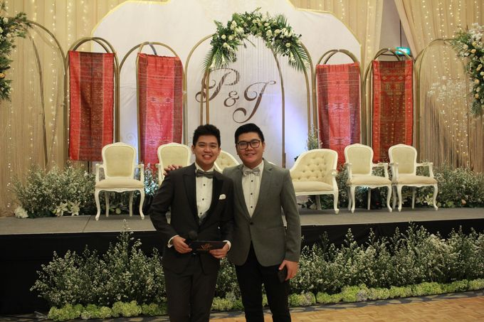 Mc Entertainment Wedding Sheraton Gandaria - Anthony Stevven  with Double V Entertainment Jakarta by Anthony Stevven - 007