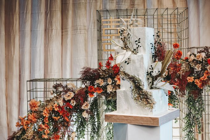 This Wedding is made intimate but not just that, every single details made personal to the bride and groom. In the midst of the pandemic, we understan by KAIA Cakes & Co. - 033