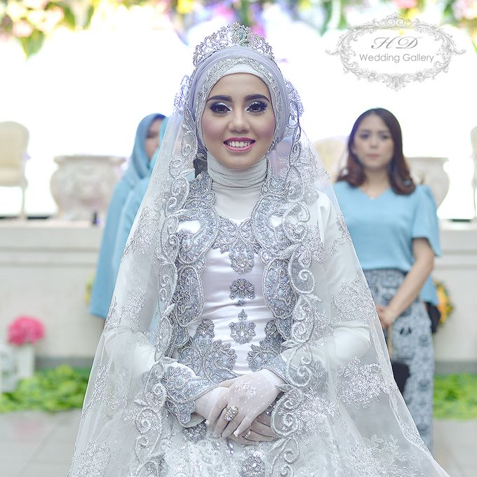 Makeup Hair Do And Hijab Style Of Our Brides By Hd Wedding Gallery Bridestory Com