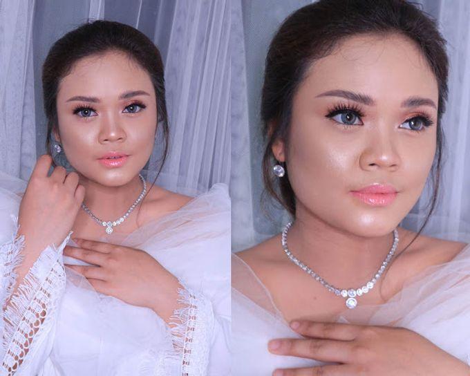 International Bride Make Up .  Ms. debora by Pangestwury MakeOver - 001