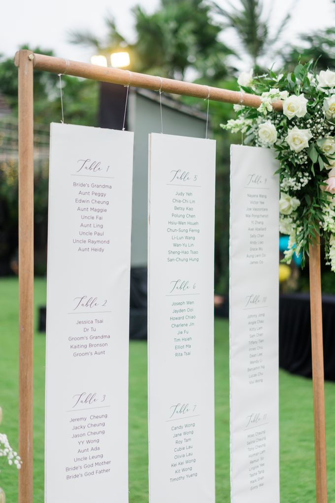 Elegant Wedding Decoration with the mix of blush and ivory at The Ritz Carlton by Silverdust Decoration - 007