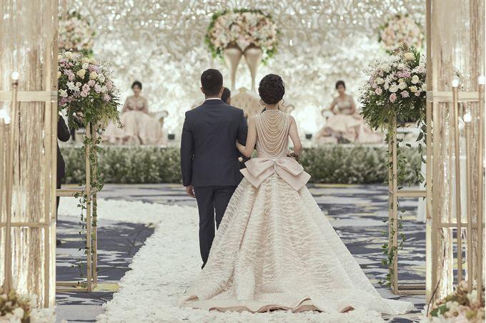 The Wedding of Clara & Winata by Skenoo Hall Emporium Pluit by IKK Wedding - 008