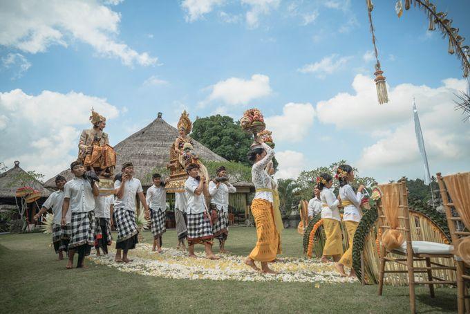 Balinese Wedding Ceremony by Puri Wulandari, A Boutique Resort & Spa - 033