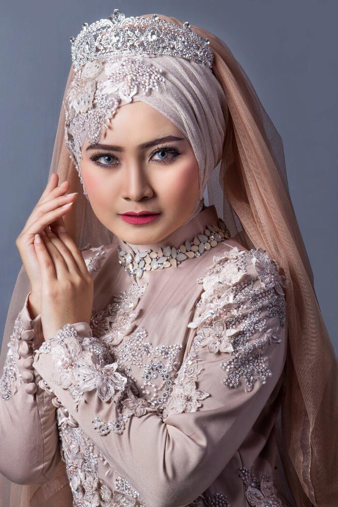 Bridal Muslim Makeup by Bridal Art - 001