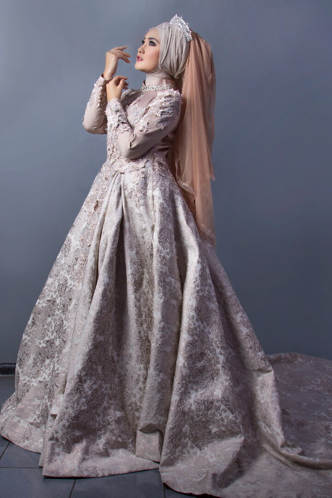 Bridal Muslim Makeup by Bridal Art - 003