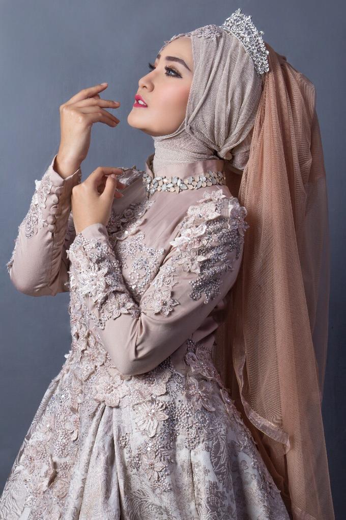 Bridal Muslim Makeup by Bridal Art - 004