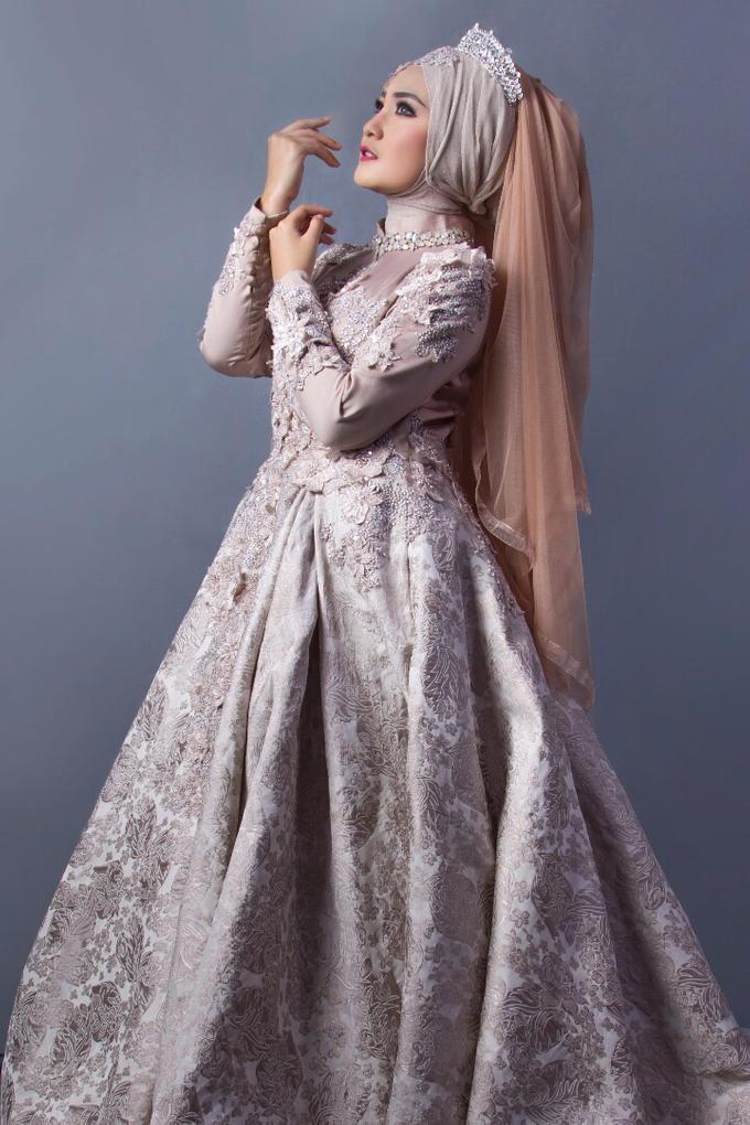 Bridal Muslim Makeup by Bridal Art - 002