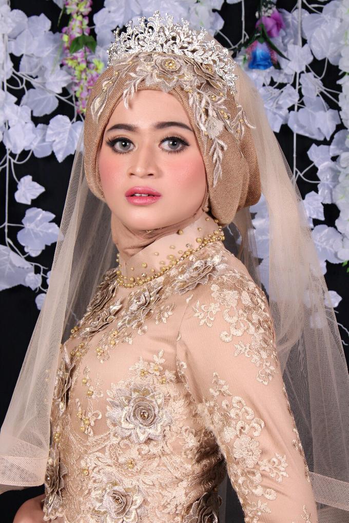 Bridal Muslim Makeup by Bridal Art - 005