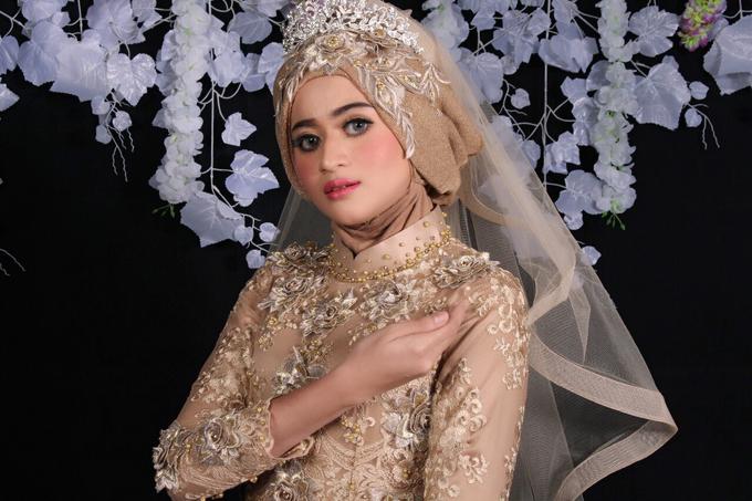 Bridal Muslim Makeup by Bridal Art - 008