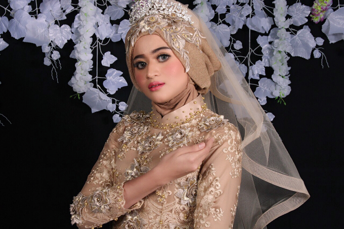 Bridal Muslim Makeup by Bridal Art - 009