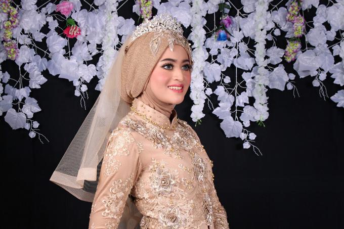 Bridal Muslim Makeup by Bridal Art - 010