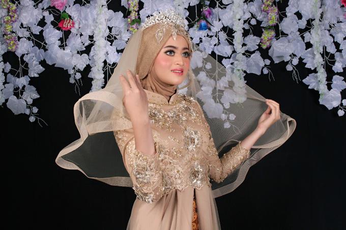 Bridal Muslim Makeup by Bridal Art - 014