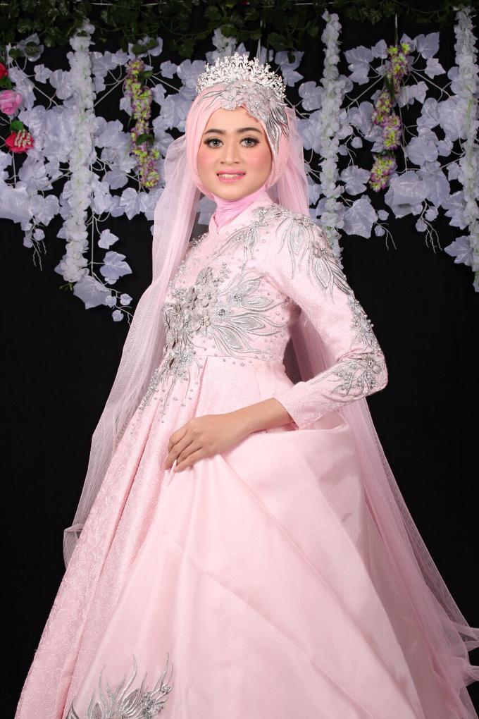 Bridal Muslim Makeup by Bridal Art - 016