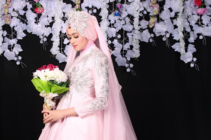 Bridal Muslim Makeup by Bridal Art - 017