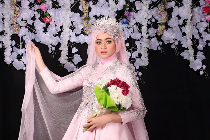 Bridal Muslim Makeup by Bridal Art - 018