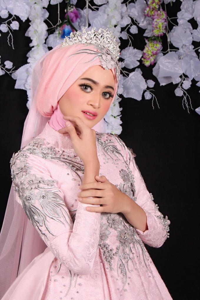 Bridal Muslim Makeup by Bridal Art - 019