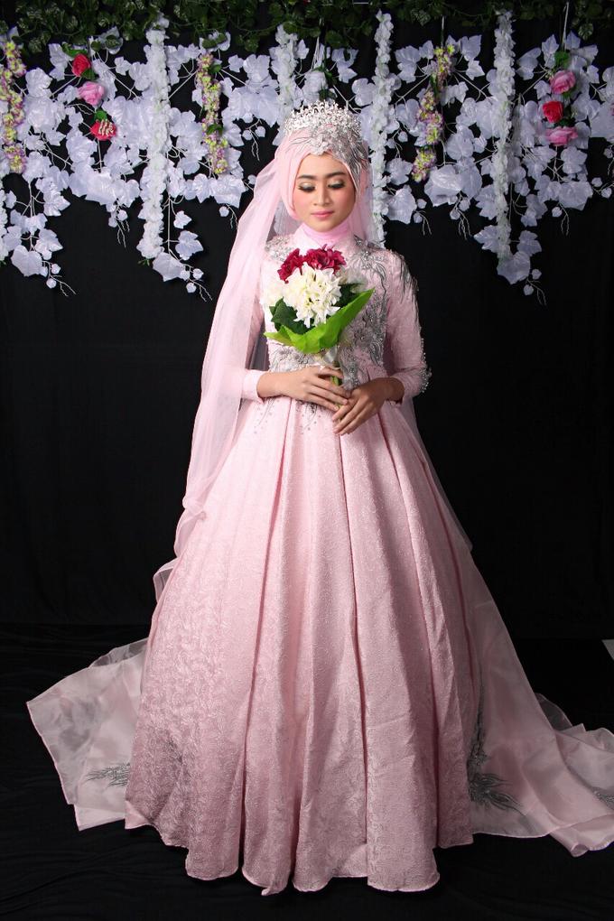Bridal Muslim Makeup by Bridal Art - 021