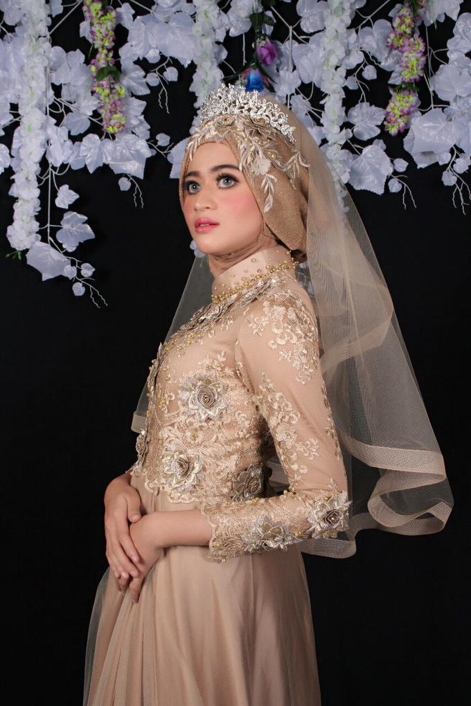 Bridal Muslim Makeup by Bridal Art - 022