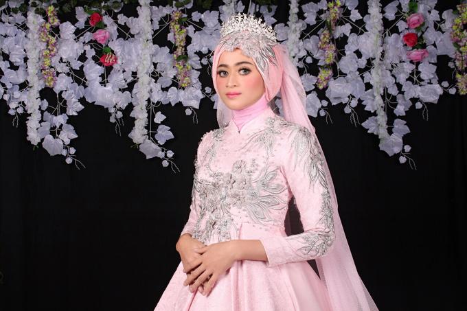 Bridal Muslim Makeup by Bridal Art - 023