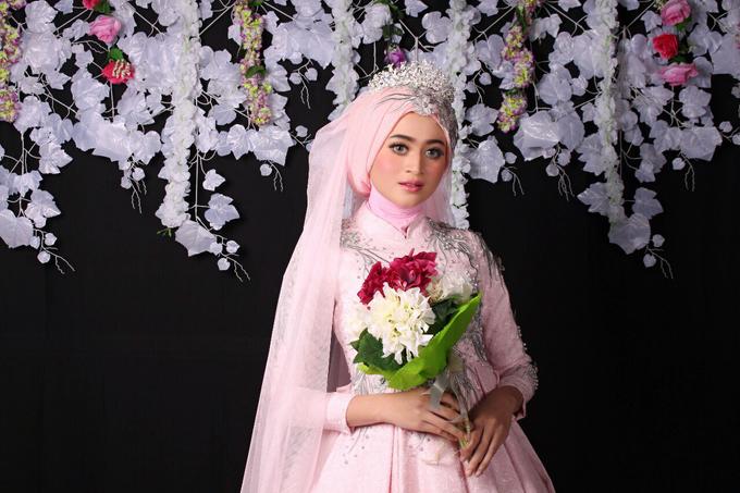 Bridal Muslim Makeup by Bridal Art - 025