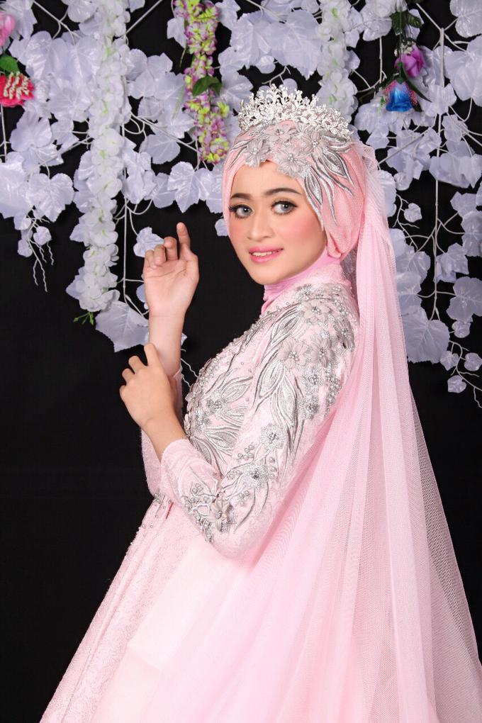 Bridal Muslim Makeup by Bridal Art - 026