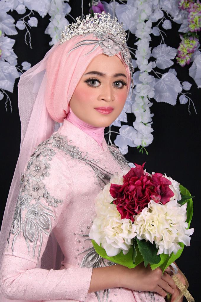 Bridal Muslim Makeup by Bridal Art - 027