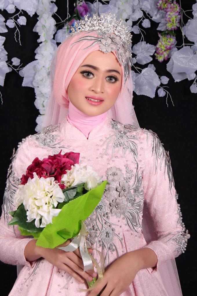 Bridal Muslim Makeup by Bridal Art - 028
