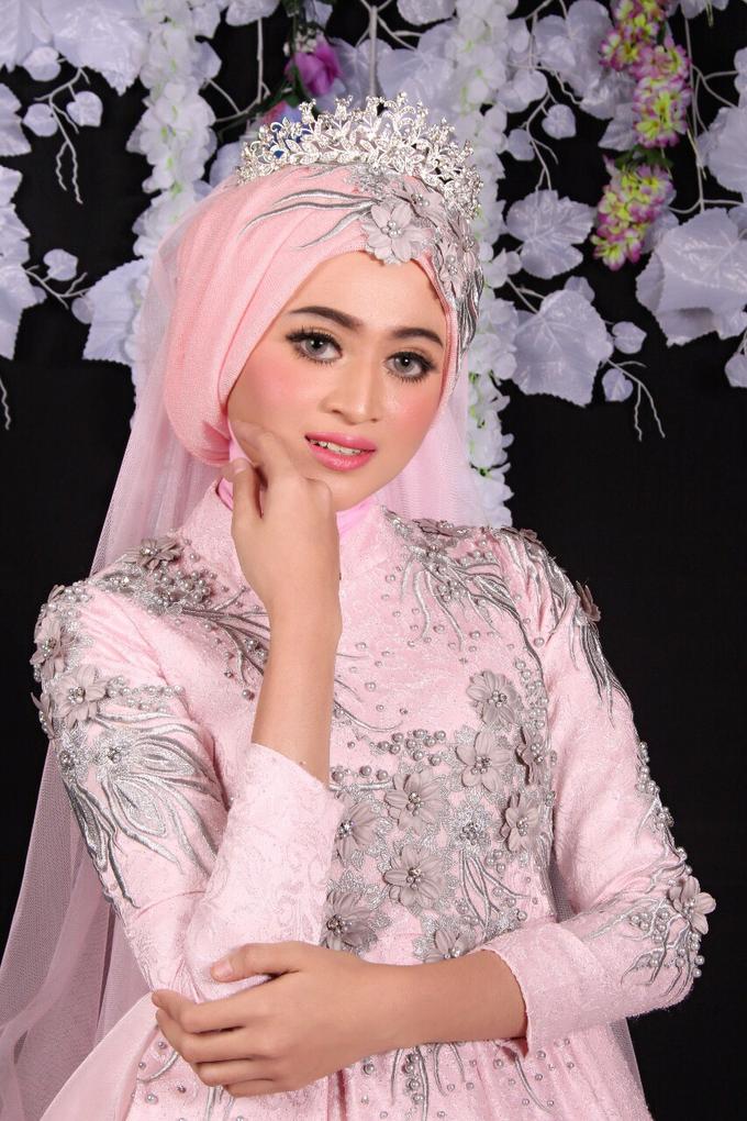 Bridal Muslim Makeup by Bridal Art - 029