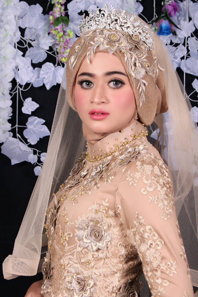 Bridal Muslim Makeup by Bridal Art - 030