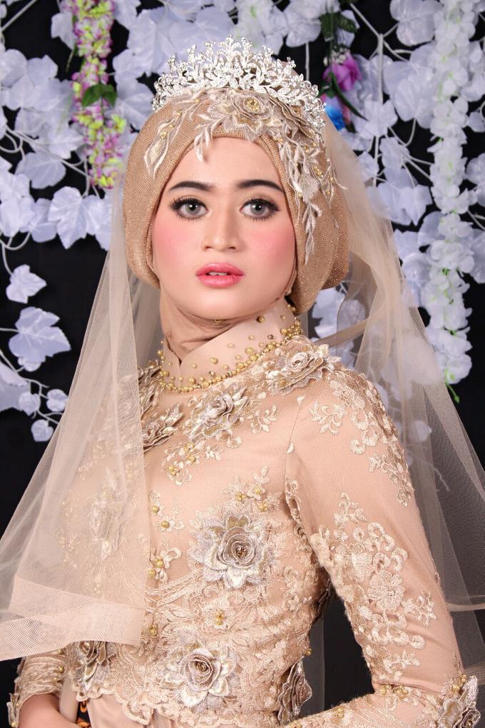 Bridal Muslim Makeup by Bridal Art - 031