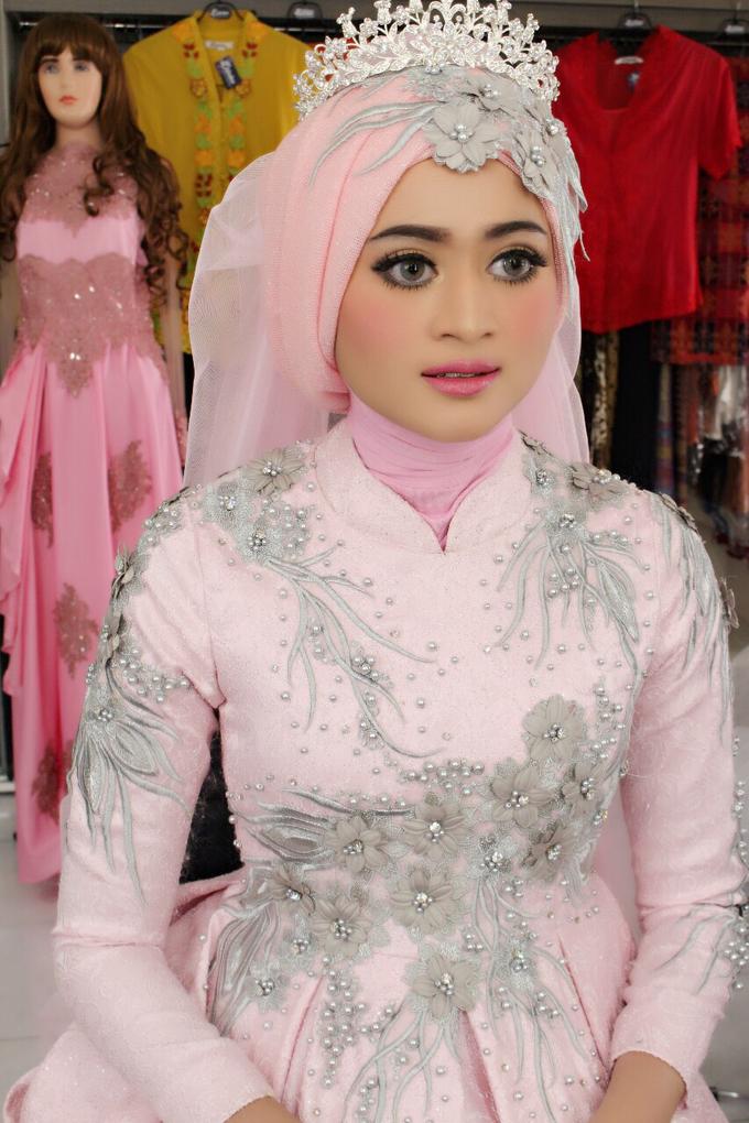 Bridal Muslim Makeup by Bridal Art - 035