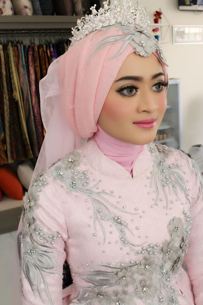 Bridal Muslim Makeup by Bridal Art - 037