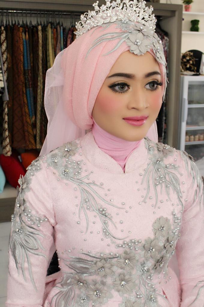 Bridal Muslim Makeup by Bridal Art - 036