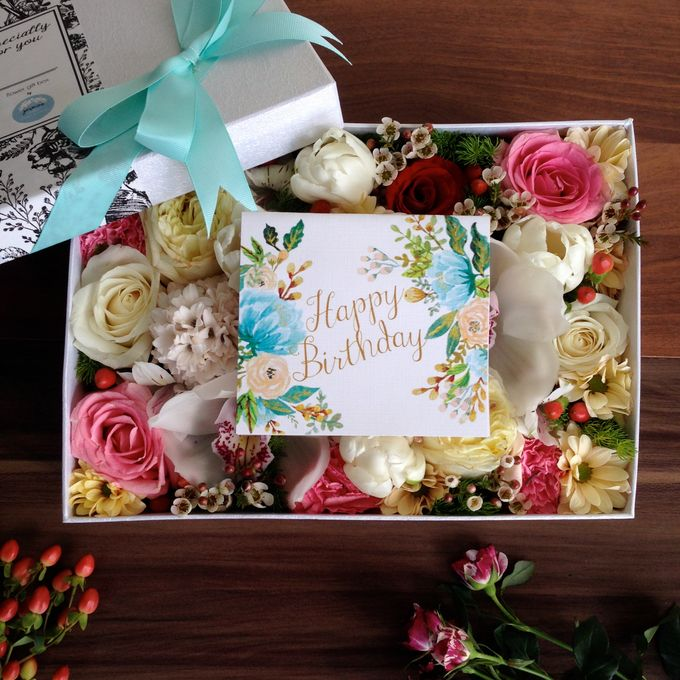 Flower Gift Box Collection 2014/2015 by Jasmine Florist - 003