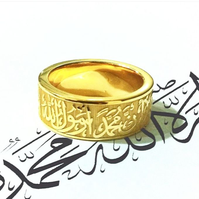 wedding ring engrave & finger print d'sign by V&Co Jewellery - 009