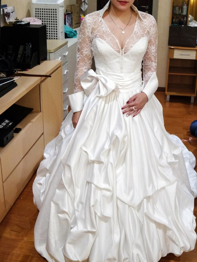 Prewedding Gown by Stephanie Amanda Couture - 002