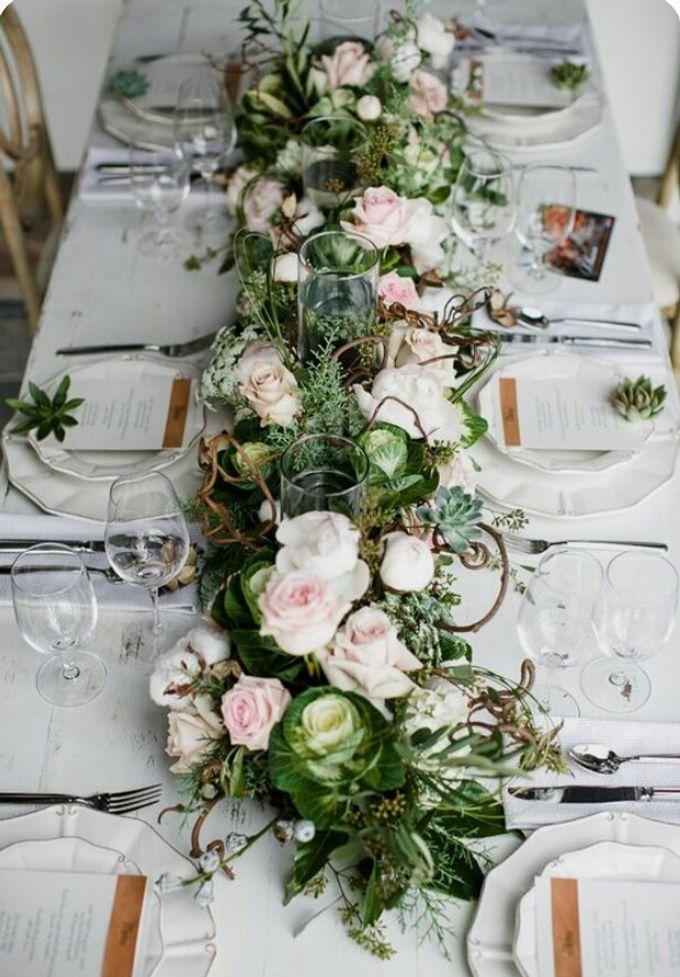 Dining Floral Arrangement by Dorcas Floral - 003