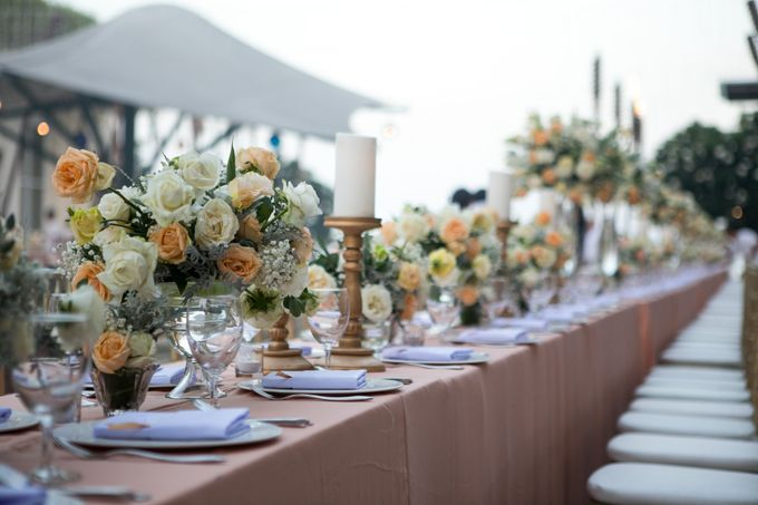 Wedding Decor at The Sakala Resort Bali by d'Oasis Florist & Decoration - 013