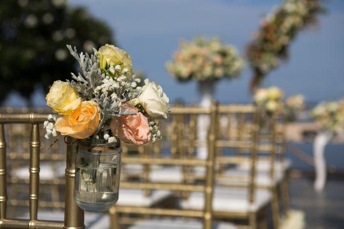 Wedding Decor at The Sakala Resort Bali by d'Oasis Florist & Decoration - 006