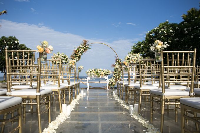 Wedding Decor at The Sakala Resort Bali by d'Oasis Florist & Decoration - 007