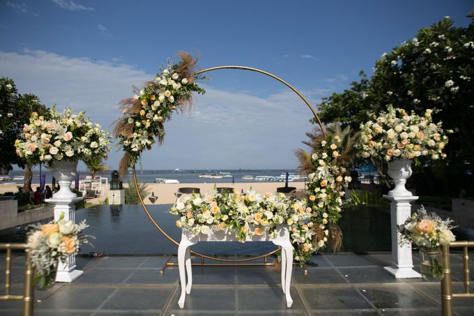 Wedding Decor at The Sakala Resort Bali by d'Oasis Florist & Decoration - 008