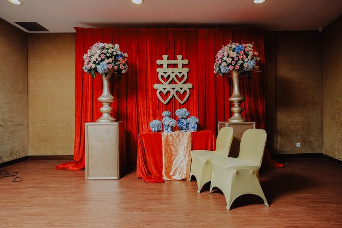The Wedding of Raymoon Anjelina by The Swan Decoration - 001